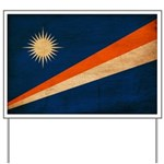 Marshall Islands Flag Yard Sign