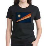 Marshall Islands Flag Women's Dark T-Shirt