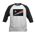 Marshall Islands Flag Kids Baseball Jersey