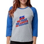 Marshall Islands Flag Women's Raglan Hoodie