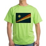 Marshall Islands Flag Green T-Shirt