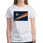 Marshall Islands Flag Women's T-Shirt