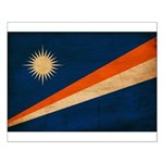 Marshall Islands Flag Small Poster