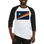 Marshall Islands Flag Baseball Jersey
