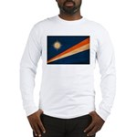 Marshall Islands Flag Long Sleeve T-Shirt