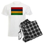 Mauritius Flag Men's Light Pajamas