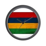 Mauritius Flag Wall Clock