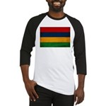 Mauritius Flag Baseball Jersey
