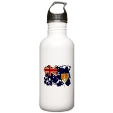 Turks and Caicos Flag Water Bottle