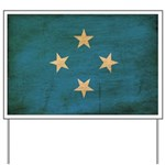 Micronesia Flag Yard Sign