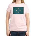 Micronesia Flag Women's Light T-Shirt