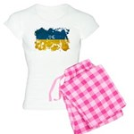 Ukraine Flag Women's Light Pajamas