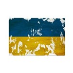 Ukraine Flag Rectangle Magnet (100 pack)