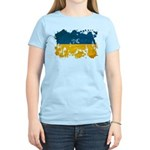 Ukraine Flag Women's Light T-Shirt