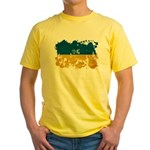 Ukraine Flag Yellow T-Shirt