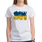 Ukraine Flag Women's T-Shirt