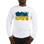 Ukraine Flag Long Sleeve T-Shirt