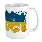 Ukraine Flag Large Mug