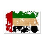 United Arab Emirates Flag Car Magnet 20 x 12