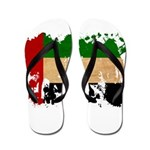 United Arab Emirates Flag Flip Flops