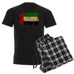 United Arab Emirates Flag Men's Dark Pajamas