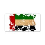 United Arab Emirates Flag Aluminum License Plate
