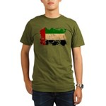 United Arab Emirates Flag Organic Men's T-Shirt (d