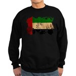 United Arab Emirates Flag Sweatshirt (dark)
