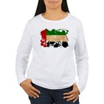 United Arab Emirates Flag Women's Long Sleeve T-Sh