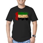 United Arab Emirates Flag Men's Fitted T-Shirt (da