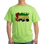 United Arab Emirates Flag Green T-Shirt