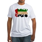 United Arab Emirates Flag Fitted T-Shirt