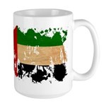 United Arab Emirates Flag Large Mug