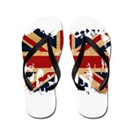 United Kingdom Flag Flip Flops