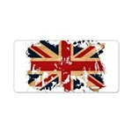 United Kingdom Flag Aluminum License Plate