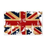 United Kingdom Flag 22x14 Wall Peel