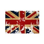 United Kingdom Flag Rectangle Magnet (100 pack)