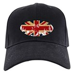 United Kingdom Flag Black Cap