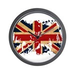 United Kingdom Flag Wall Clock