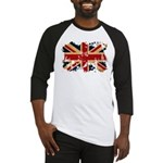 United Kingdom Flag Baseball Jersey
