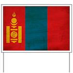 Mongolia Flag Yard Sign