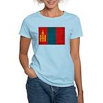 Mongolia Flag Women's Light T-Shirt