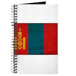 Mongolia Flag Journal