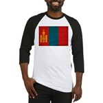 Mongolia Flag Baseball Jersey