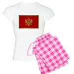 Montenegro Flag Women's Light Pajamas