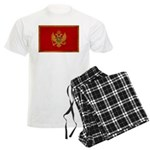 Montenegro Flag Men's Light Pajamas