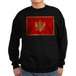 Montenegro Flag Sweatshirt (dark)