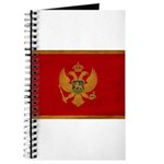 Montenegro Flag Journal