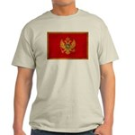 Montenegro Flag Light T-Shirt