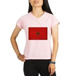 Morocco Flag Performance Dry T-Shirt